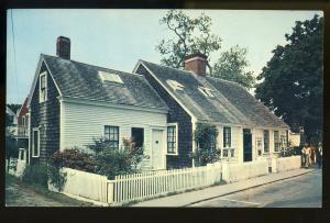 Provincetown, MAMass Postcard, Oldest House, Cape Cod