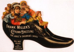 Advertising - Frank Miller's Crown Dressing (5.75 X 4 Photo Reprint)