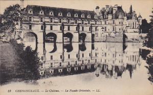 France Chenonceau Le Chateau La Facade Orientale