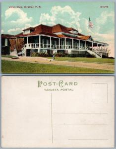 PUERTO RICO MIRAMAR UNION CLUB PORTO RICO ANTIQUE POSTCARD