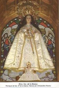 POSTAL 54595: Nuestra Se?ra de la Blanca. Consuegra Toledo
