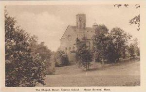 Massachusetts Mount Herman The Chapel Mount Herman School Albertype