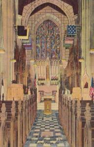 Pennsylvania Valley Forge Interior Washington Memorial Chapel Curteich