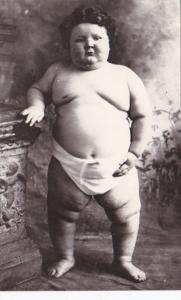 Humour Fat Child In Diaper