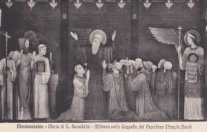 Morte Di S. Benedetto, Affresco Nella Cappella Del Crocifisso, MONTECASSINO, ...