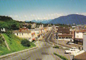 Canada British Columbia Mission City Main Street Business Section