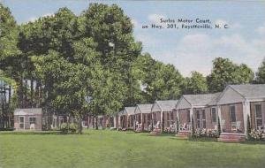 North Carolina Fayetteville Surles Motor Court