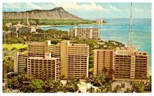 Hawaii    Waikiki Birds-eye view