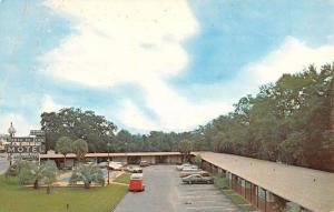 Tallahassee Florida Ponce De Leon Motel Street View Vintage Postcard K96040