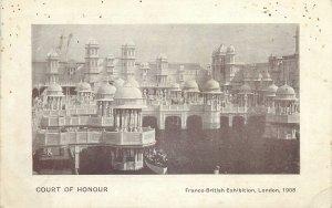 Postcard exhibitions Court of Honour Franco-british Exhibition 1908