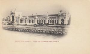 PARIS, France, 1900-10s; Exposition de 1900, Palais des Armees de Terre & de Mer