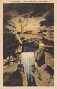 FRONT ROYAL, Virginia, 1930-40s; Rainbow Falls, Skyline Caverns