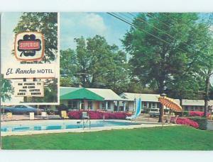 Pre-1980 MOTEL SCENE Walterboro South Carolina SC B6993