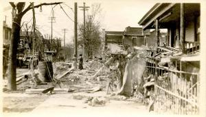 OH - Dayton. March 1913 Flood Aftermath,  - RPPC  (PHOTO, not a postcard)
