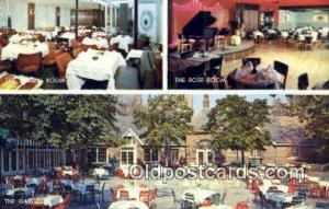Tavern On The Green, Central Park, USA Motel Hotel Postcard Post Card Old Vin...