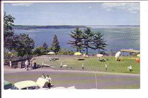 Georgian Bay from Belvedere Hill, Parry Sound, Ontario,  Thompson, Beach Umbr...