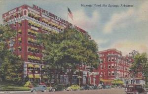 Arkansas Hot Springs Majestic Hotel