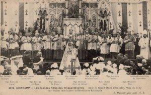 Guingamp Great Feast Of Fifty Les Grandes Fetes Des Cinquantenaires Postcard