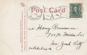 BOSTON , Massachusetts , 1907 ; Park Street , SUBWAY