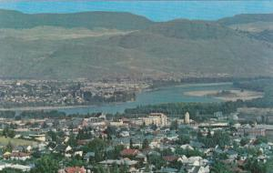 Elevated View of Kamloops, Sportsman's Paradise, Kamloops, British Columbia...