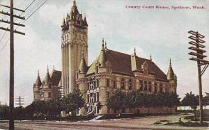 Exterior, County Court House, Spokane, Washington, 00-10s