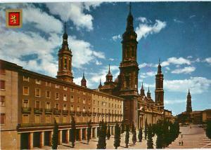 Barcelona Spain Escudo De Oro Castle Towers Madrid Prado   Postcard  # 7058