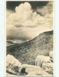 Pre-1950 rppc NICE VIEW Lookout Mountain - Chattanooga Tennessee TN i5938