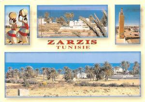 Tunisia Zarzis Tunisie Desert Palm Trees, Tower Tour Panorama