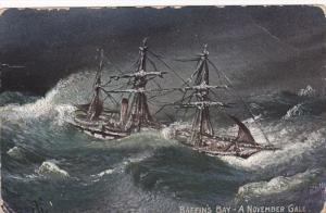 Baffin's Bay. A November Gale , NUNAVUT , Canada , PU-1907