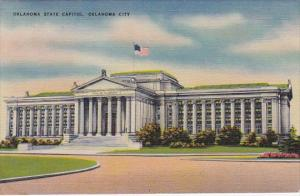 Oklahoma City Oklahoma State Capitol 1944