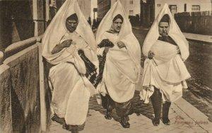 PC CPA JUDAICA TUNIS FEMMES JUIVES LEHUERT & LANDROCK Vintage Postcard (b25103)