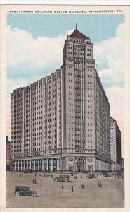 Pennsylvania Railroad System Building, PHILADELPHIA, Pennsylvania, 1910-1920s