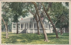 BILOXI, Mississippi, PU-1910; Beauvoir, Home of Jefferson Davis