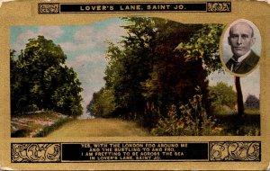 Missouri St Joseph Lover's Lane
