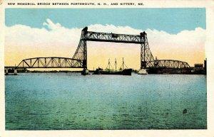 ME - Kittery. New Memorial Bridge to Portsmouth, NH