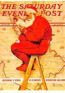 Santa - Norman Rockwell