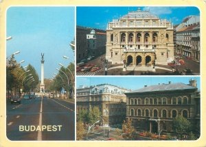 Hungary  Budapest collection of pictures  Postcard