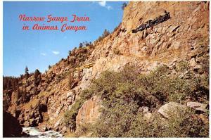 Narrow Gauge Train - Animas Canyon, Colorado