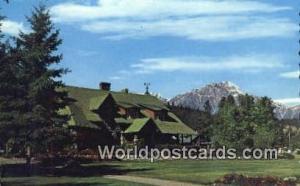 Canada Jasper Townsite Jasper National Park Admin Bldg
