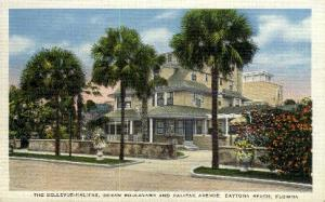 Bellevue-Halifax Hotel Daytona Beach FL Unused