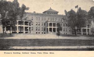 Twin Cities-Minneapolis-St Paul MN~Women's Bldg~Civil War Soldier's Home c1910