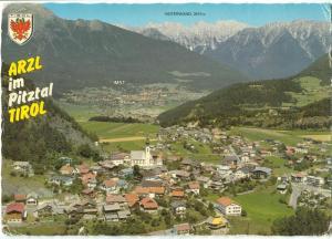 Austria, Arzl im Pitztal Tirol, 1982 used Postcard