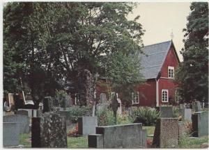 Kustavin kirkko, Suomi, Finland, unused Postcard