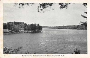 Raymond New Hampshire Pawtuckaway Lake from Gove's Grove Postcard JD933767