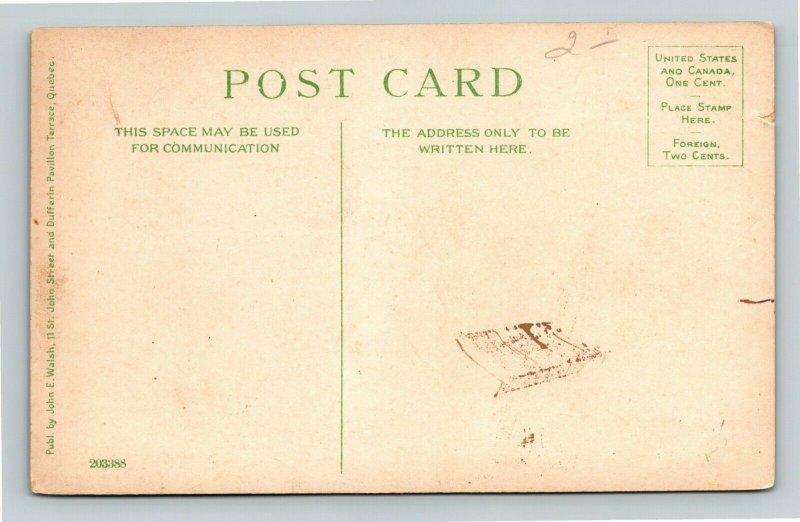 St. Joseph, Quebec.-Canada, Scenic Greeting, De Levis, Vintage Postcard