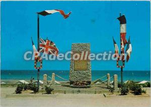 Modern Postcard Langrune sur Mer (Calvados) The Commemorative Monument Unload...