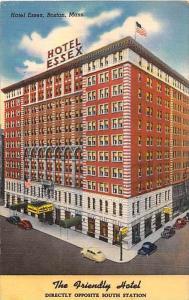 1601 MA Boston  Hotel Essex