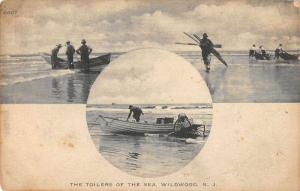 Willdwood New Jersey Toilers of the Sea Antique Postcard J57407