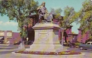Maine Portland Longfellow Monument 1964