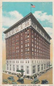 Hotel La Fayette, Little Rock, Arkansas, 1910s